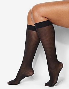 Ribbed Trouser Socks by CATHERINES