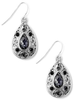 Midnight Stone Earrings