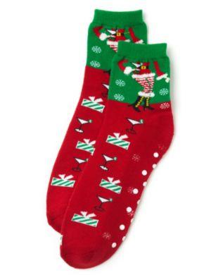 Christmas Cocktail Socks