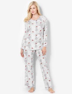 Cardinal Pajama Set