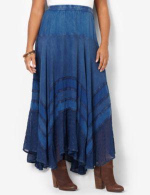 Soft Patchwork Skirt