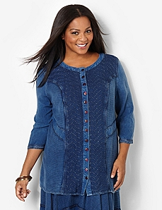 Soft Patchwork Tunic