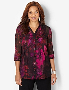 Floral Splendor Blouse