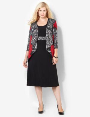 Fanciful Jacket Dress