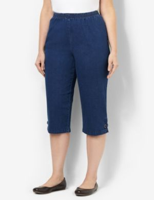 Everyday Fit Denim Capri