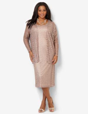 Chandelier Jacket Dress