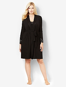 Luxe Touch Robe by CATHERINES