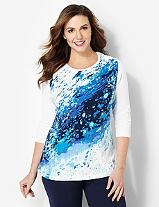 Watersplash Tee