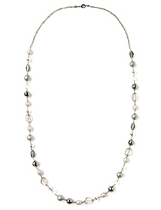 Sheer Midnight Necklace