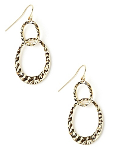 Double Texture Earrings