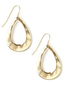 Polished Teardrop Earrings