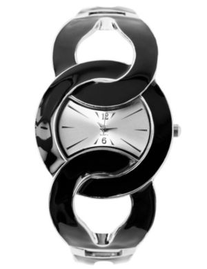 Enamel Link Watch