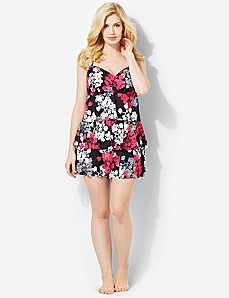 Cherry Blossom Swimdress by CATHERINES