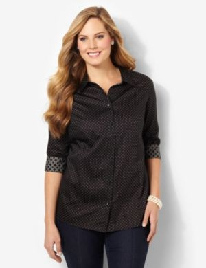Pindot Sateen Shirt