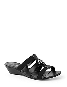 Slip-On Wedge Sandals