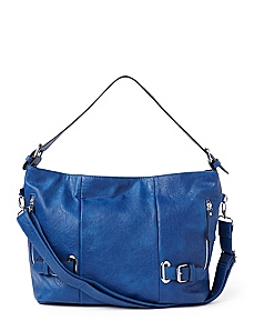 Bold Buckled Handbag by CATHERINES