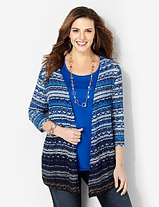 Endless Ocean Cardigan