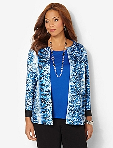 Ocean Glow Reversible Jacket by CATHERINES