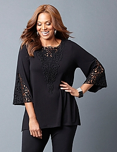 Lace Escape Tunic