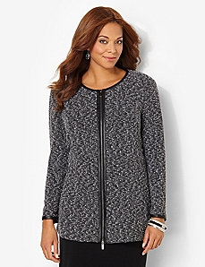 Signature Boucle Jacket by CATHERINES