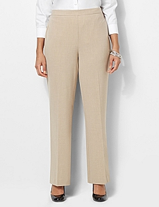 Refined Fit Heathered Pant by CATHERINES