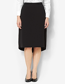 Sleek Hi-Low Skirt