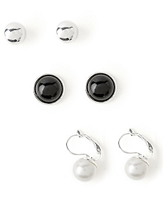 Timeless 3-Pair Earring Set