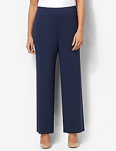 AnyWear Cozy Wide Leg Pant by CATHERINES