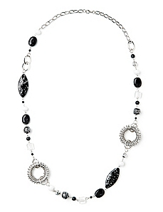 Speckle Stone Necklace