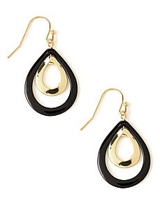 Duet Teardrop Earrings