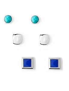 Seascape 3-Pair Earring Set