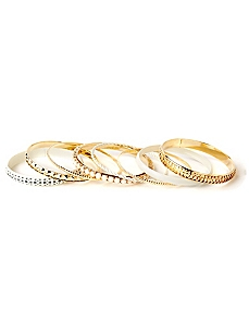 Whispered Beauty Bangle Set