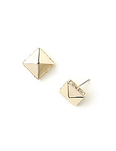 Pyramid Sparkle Earrings