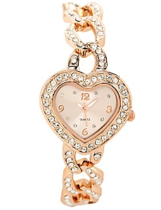 Heart Charm Watch