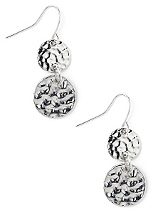Duet Disc Earrings