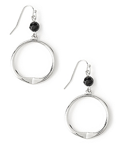 Dangling Ring Earrings