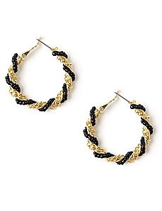 Twist & Turn Earrings by CATHERINES
