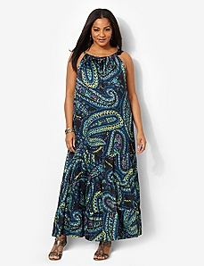 Paisley Galaxy Maxi by CATHERINES