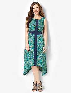 Slimming Tile Dress