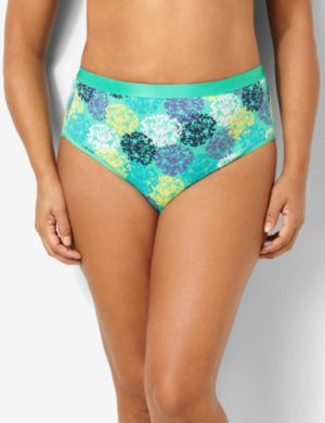Dandelion Cotton Hi-Cut Brief
