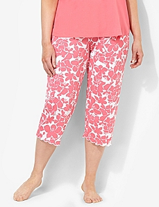 Hibiscus Bright Side Sleep Capri
