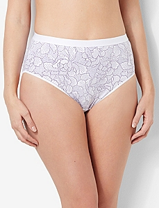 Petal Cotton Hi-Cut Brief by CATHERINES