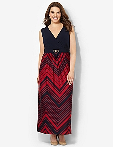 Chevron Must-Have Maxi by CATHERINES