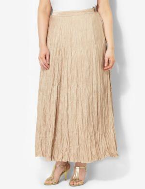 Textured Crinkle Skirt