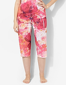 Sweetly Bloom Sleep Capri by CATHERINES