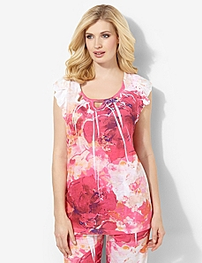 Sweetly Bloom Sleep Top