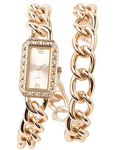 Duality Rhinestone Watch