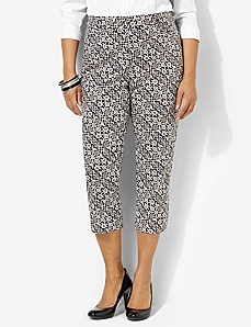 Secret Slimmer® Print Capri