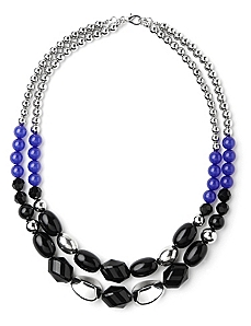 Bead Duet Necklace