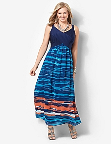 Sunset Beach Maxi by CATHERINES